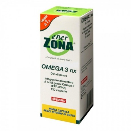 ENERZONA OMEGA 3 RX cuore, trigliceridi e pressione sotto controllo!